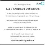 """Talent Hug (20): Blue C với thông báo tuyển dụng """"thách thức"""" nhân tài"""