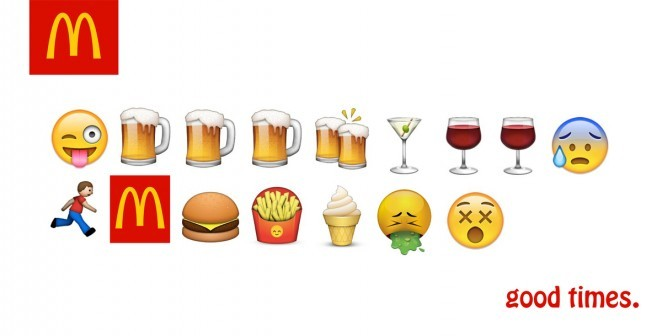 emoji trong content marketing
