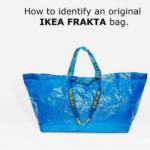 """Túi nhựa Frakta – """"Nhân vật đình đám"""" trong quảng cáo của IKEA"""