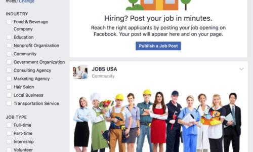 Facebook mở rộng phạm vi cho tính năng tuyển dụng tại 40 quốc gia
