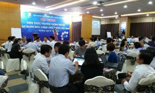 Blue C đồng hành cùng VNPT nâng cao năng lực truyền thông nội bộ