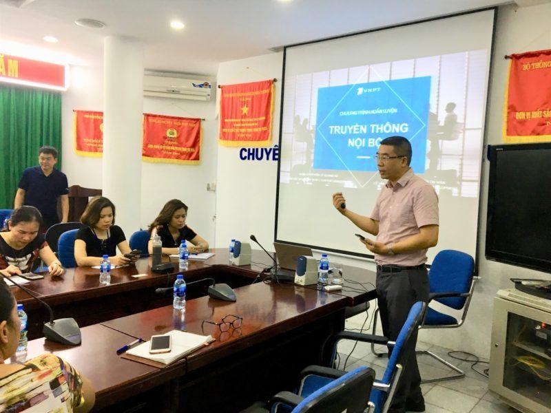 Gần 30 quản lý cấp trung VNPT Hà Nội tham gia đào tạo nâng cao năng lực truyền thông nội bộ