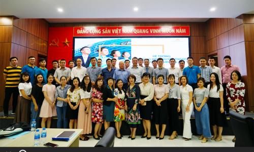 Blue C đào tạo truyền thông thương hiệu cho gần 100 cán bộ Vietnam Airlines