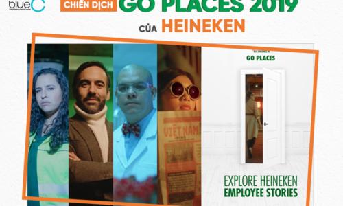 """Chiến dịch tuyển dụng """"Đi muôn nơi"""" độc đáo của Heineken"""