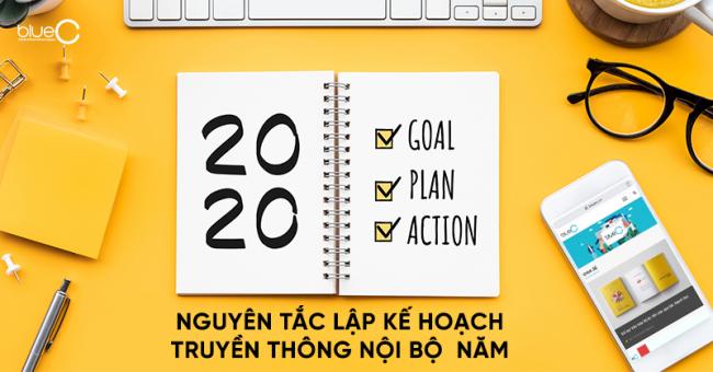 5 nguyên tắc lập kế hoạch truyền thông nội bộ năm