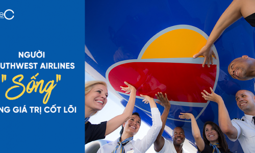 """Người Southwest Airlines """"sống"""" cùng giá trị cốt lõi"""