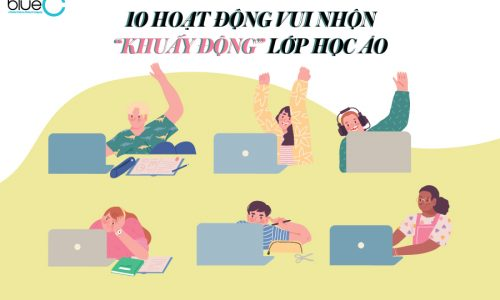 """10 hoạt động vui nhộn """"khuấy động"""" lớp học ảo"""