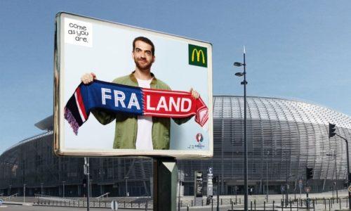 """Brands and Euro (5): MCDONALD""""S GẮN KẾT CỔ ĐỘNG VIÊN CÁC QUỐC GIA TẠI EURO"""