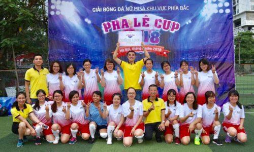 Khai mạc Pha lê CUP 2018 – Giải bóng đá nữ Misa