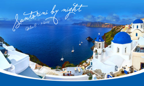 """Từ """"Santorini by Night"""" đến cách tìm chủ đề xuyên suốt cho sự kiện nội bộ"""