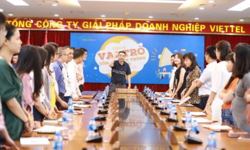 CEO Blue C chia sẻ cùng Viettel về vai trò của truyền thông nội bộ