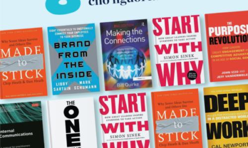 8 cuốn sách cần có cho người làm truyền thông nội bộ
