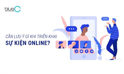 Cách tổ chức sự kiện kết nối online