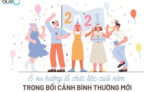 5 xu hướng tổ chức tiệc cuối năm trong bối cảnh bình thường mới