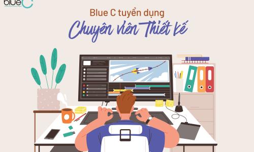 Blue C tuyển dụng 01 Chuyên viên Thiết kế