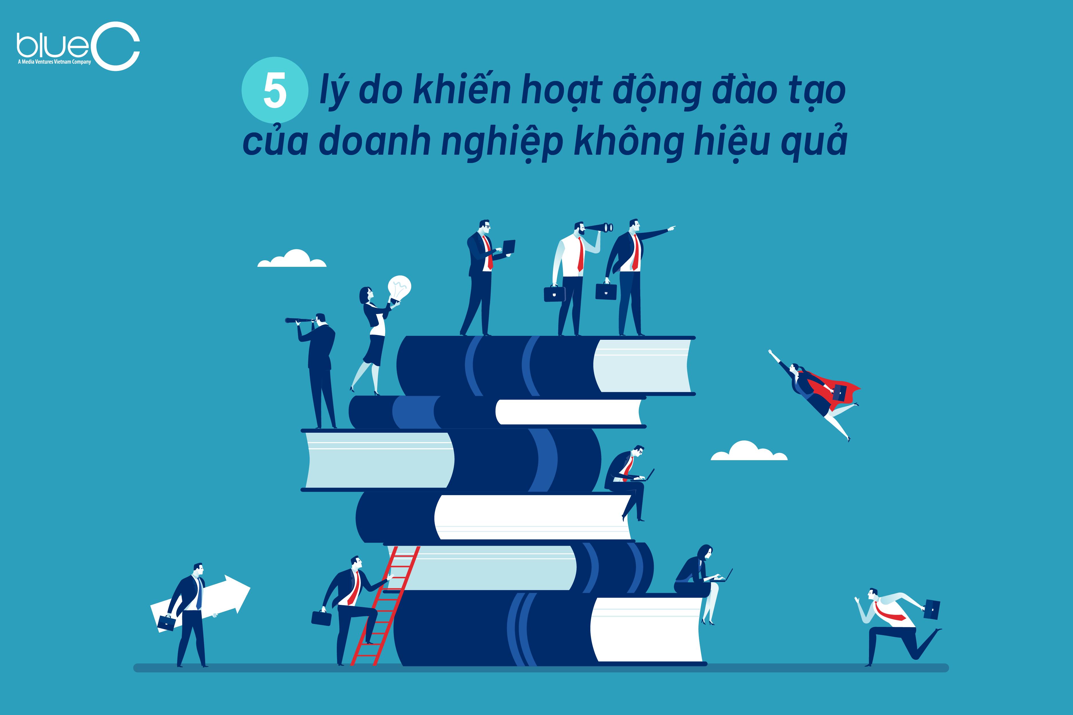 5 lý do khiến hoạt động đào tạo của doanh nghiệp không hiệu quả
