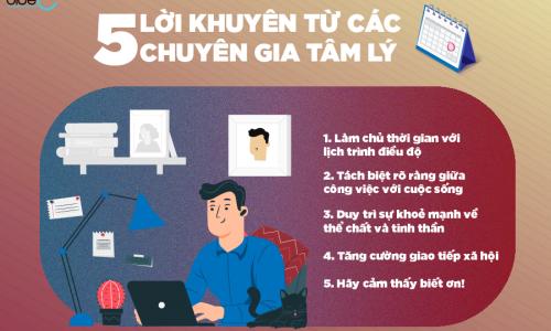 Làm việc ở nhà hiệu quả – Lời khuyên từ các chuyên gia tâm lý