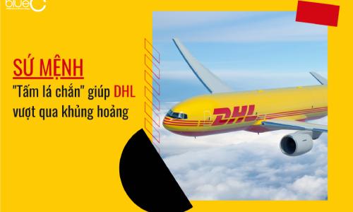 """Sứ mệnh là """"tấm lá chắn"""" giúp DHL vượt qua khủng hoảng"""